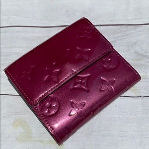 LOUIS VUITTON Vernis Compact Wallet